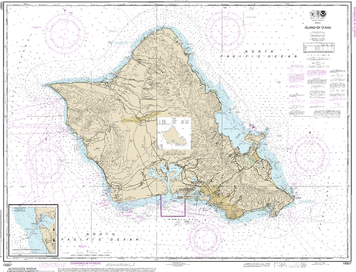 NOAA Nautical Chart 19357: Island of Oƒ??ahu;Barbers Point Harbor