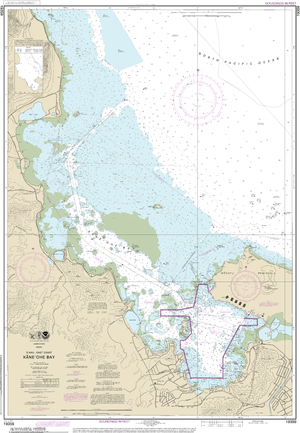 NOAA Nautical Chart 19359: Oƒ??ahu East Coast K??neƒ??ohe Bay