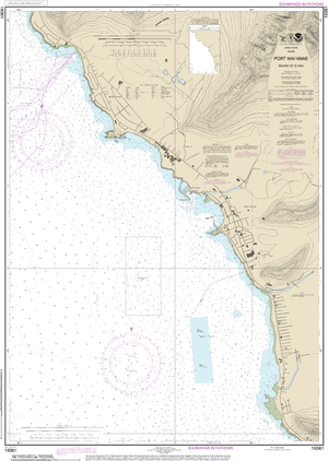 NOAA Nautical Chart 19361: Port Waƒ??ianae Island of Oƒ??ahu