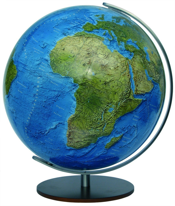 Freiburg Illuminated 13 Inch Desktop World Globe By Columbus Globes