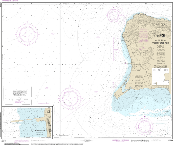 NOAA Nautical Chart 25644: Frederiksted Road;Frederiksted Pier