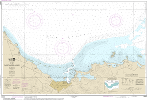 NOAA Nautical Chart 25645: Christiansted Harbor