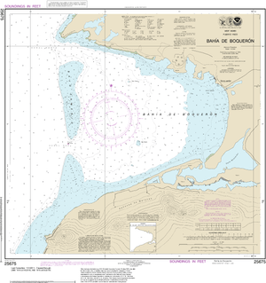 NOAA Nautical Chart 25675: Bahia de Boqueron