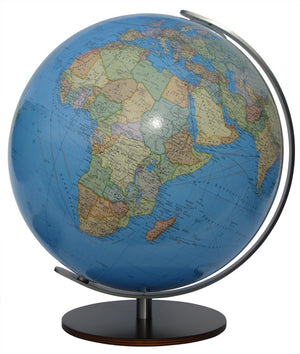 Kempten Illuminated 13 Inch Desktop World Globe By Columbus Globes