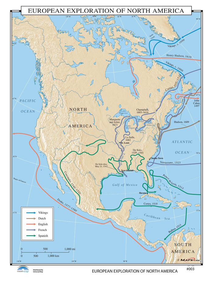 #003 European Exploration of North America