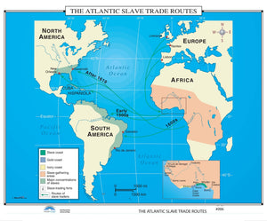 Kappa Map Group  006 The Atlantic Slave Trade Routes