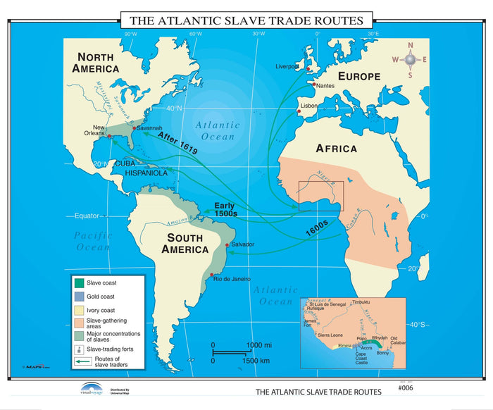 #006 The Atlantic Slave Trade Routes