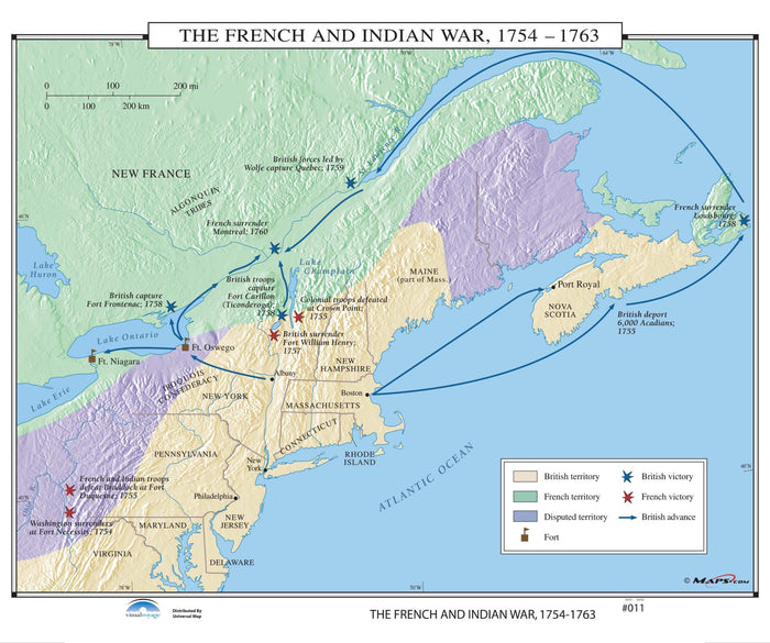#011 The French & Indian War, 1754-1763