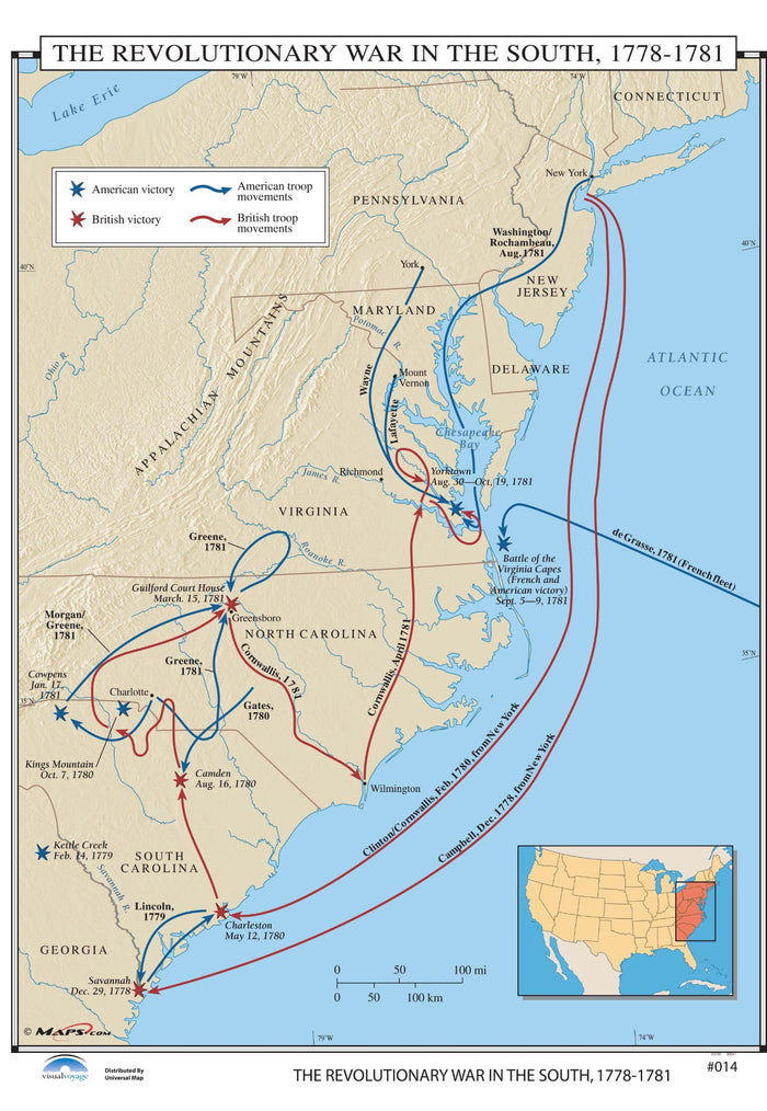 #014 The Revolutionary War in the South, 1778-1781
