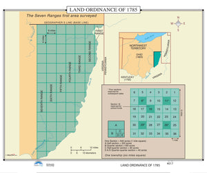 Kappa Map Group  017 Land Ordinance Of 1785