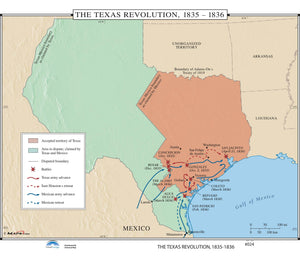 Kappa Map Group  024 The Texas Revolution 1835 1836