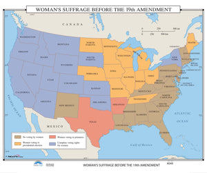 Kappa Map Group  049 Woman S Suffrage Before The 19Th Amendment