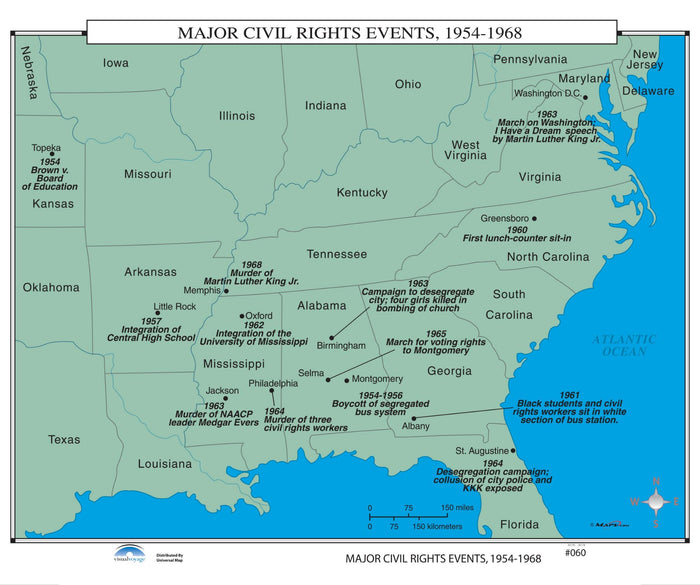 #060 Major Civil Rights Events, 1954-1968