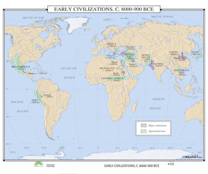 Kappa Map Group  103 Early Civilizations 8000 900 Bce