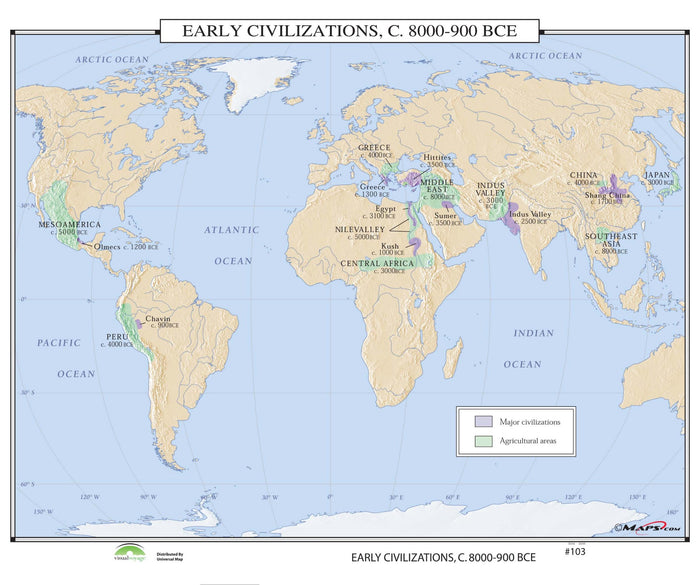 #103 Early Civilizations, 8000-900 BCE