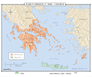 Kappa Map Group  109 Early Greece 2000 1100 Bce
