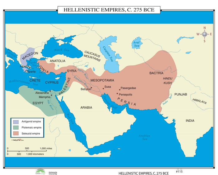#115 Hellenistic Empires, 275 BC