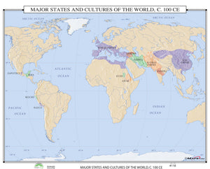 Kappa Map Group  118 Major States Cultures Of The World 100 Ce