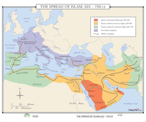 Kappa Map Group  124 The Spread Of Islam 622 750 Ce