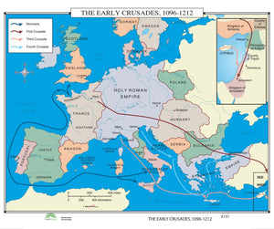 Kappa Map Group  131 The Early Crusades 1096 1212