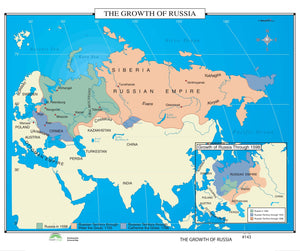 Kappa Map Group  143 The Growth Of Russia