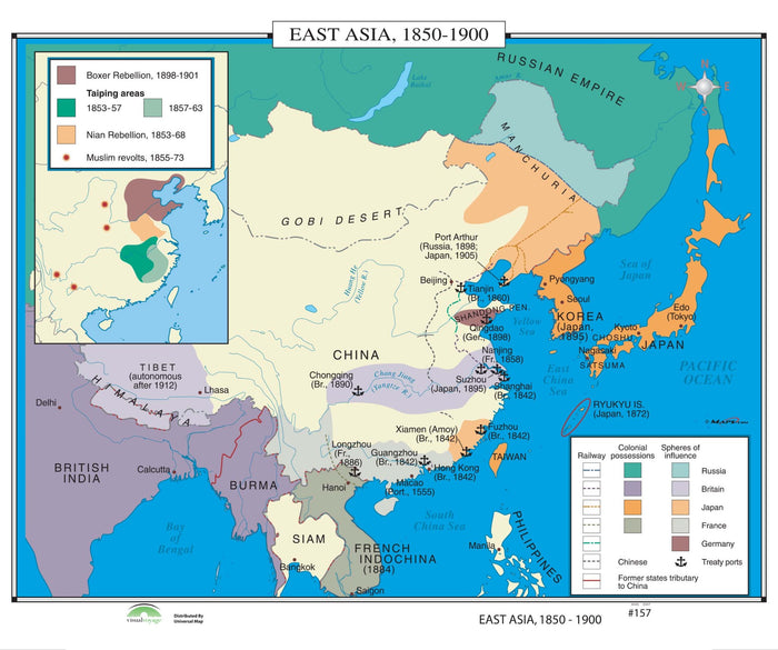 #157 East Asia, 1850-1900