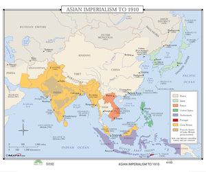 Kappa Map Group  160 Asian Imperialism To 1910