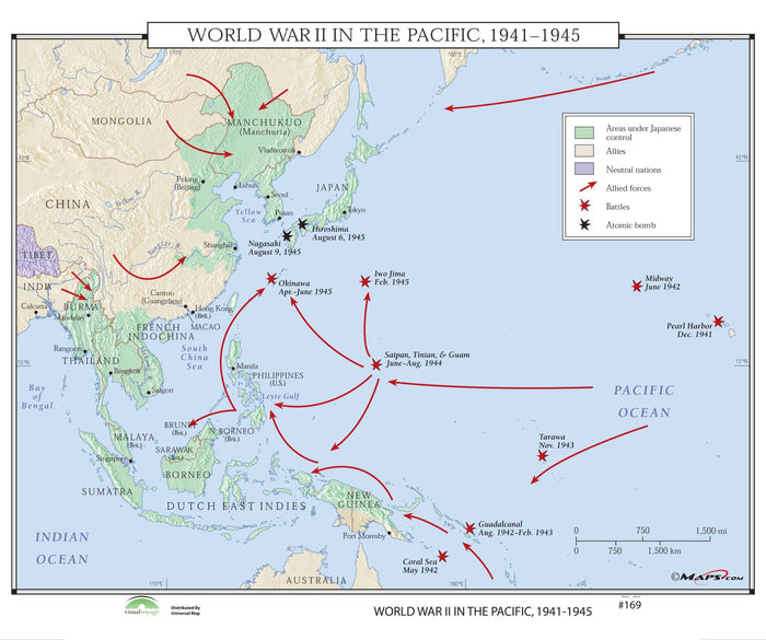 #169 World War II in the Pacific, 1941-1945