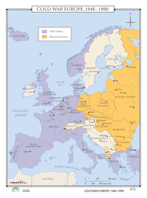 Kappa Map Group  172 Cold War Europe 1946 1990