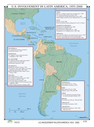 Kappa Map Group  178 Us Involvement In Latin America 1953 2000
