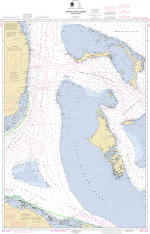 NOAA Nautical Chart 4149: Straits of Florida - Eastern Part
