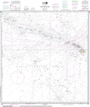 NOAA Nautical Chart 540: Hawaiƒ??ian Islands
