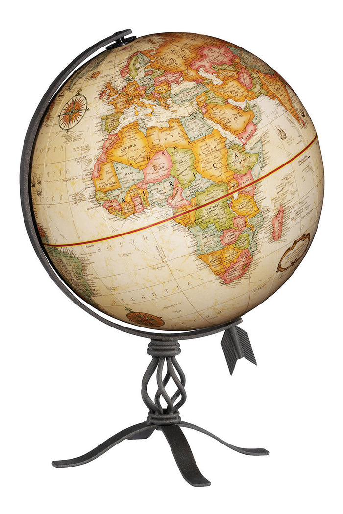 MacInnes 12 Inch Desktop World Globe By Replogle Globes
