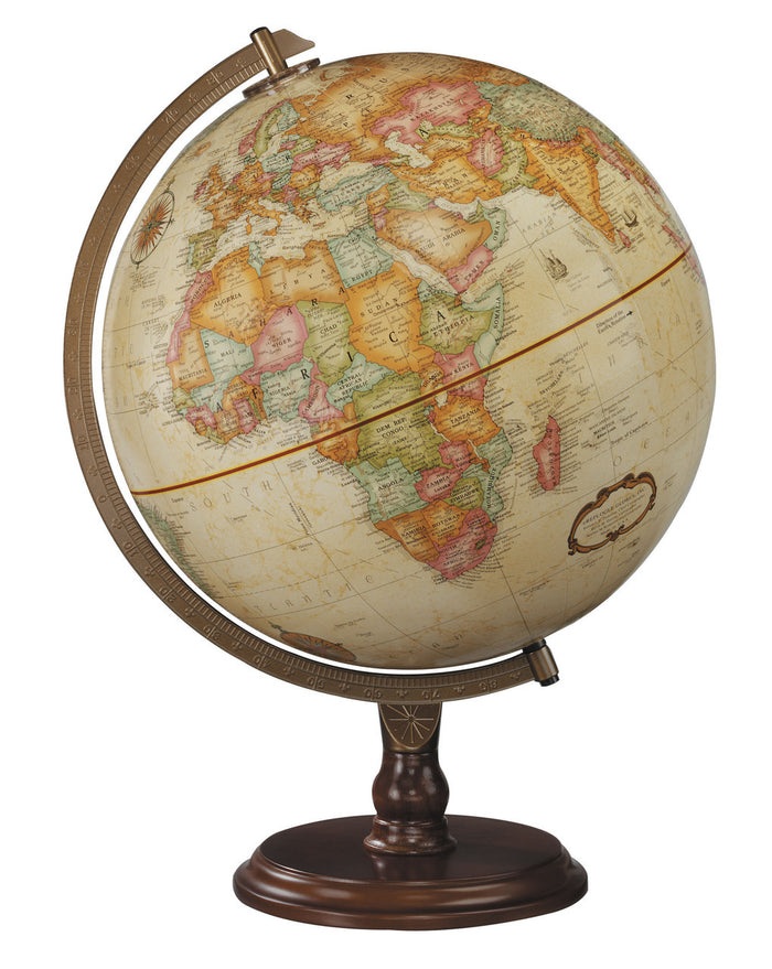 Lenox 12 Inch Desktop World Globe By Replogle Globes