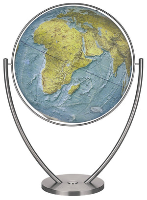 Magnum Physical Illuminated 30.5 Inch Floor World Globe By Columbus Globes