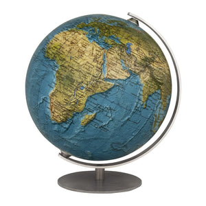 Mini Physical 4.7 inch Desktop World Globe By Columbus Globes