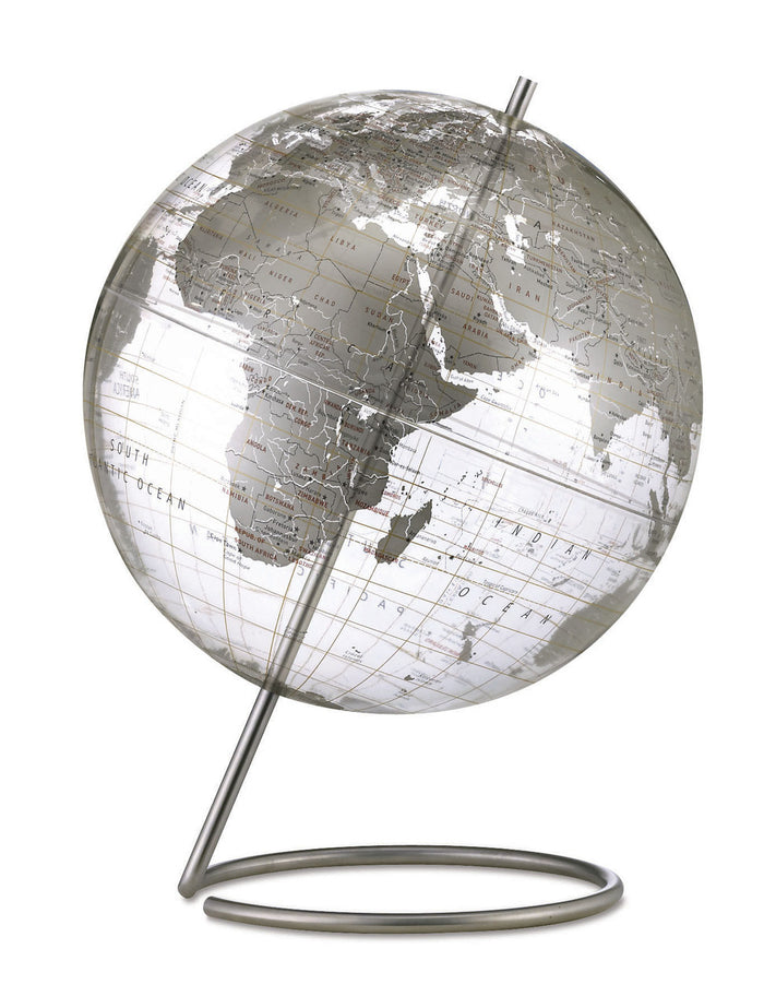 Crystal Marquise 12 Inch Desktop World Globe By Replogle Globes