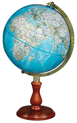 Hudson 12 Inch Desk World Globe By National Geographic