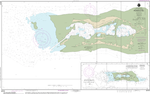 NOAA Nautical Chart 83157: Palmyra Atoll;Approaches to Palmyra Atoll