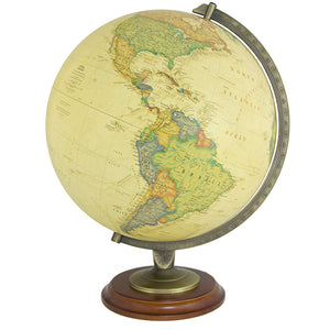 Adams 12 Inch Illuminated Desktop World Globe By National Geographic