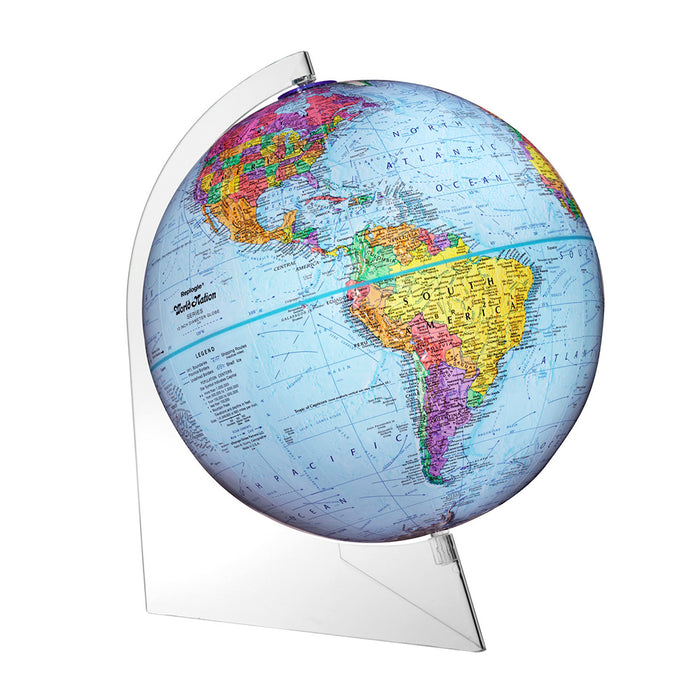 Panorama 12 Inch Desktop World Globe By Replogle Globes