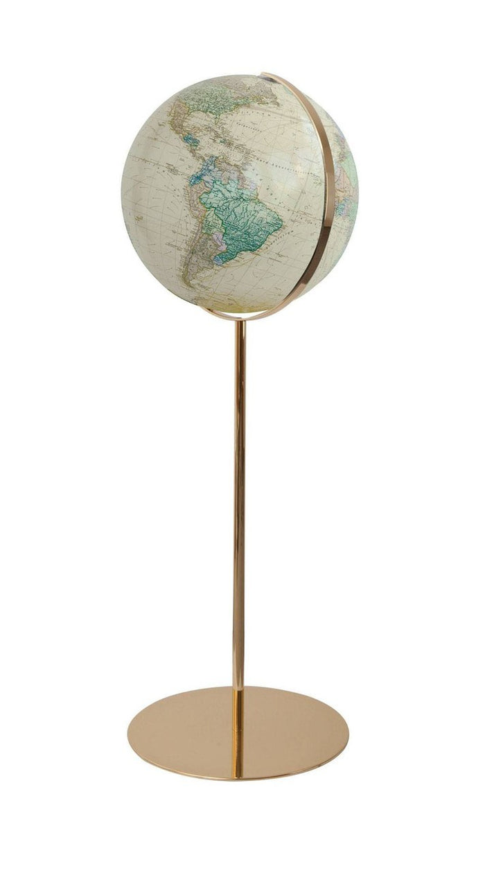 Potsdam Illuminated 16 Inch Floor World Globe By Columbus Globes
