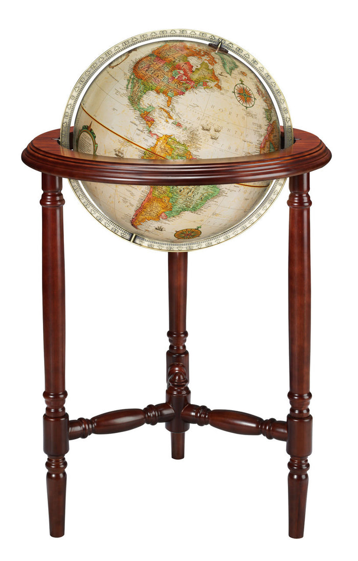 Stevens 16 Inch Floor World Globe By Replogle Globes