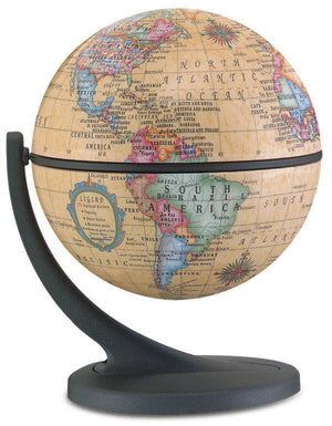 Wonder Globe Antique 4.3 Inch Desktop World Globe By Replogle Globes