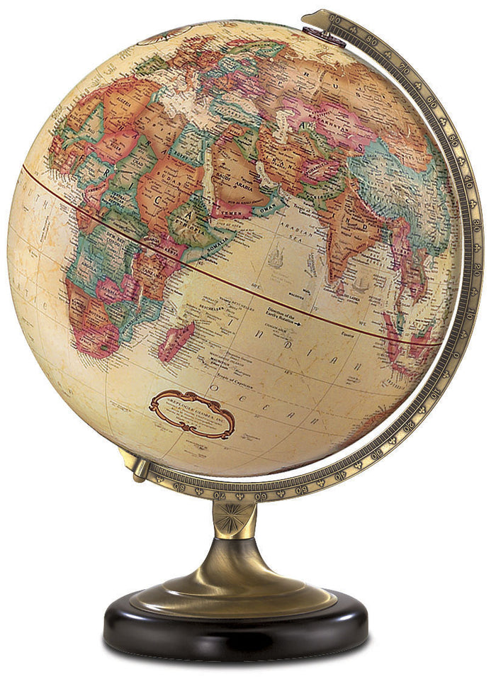 Sierra 12 Inch Desktop World Globe By Replogle Globes