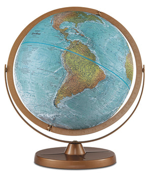 Atlantis 12 Inch Desktop World Globe By Replogle Globes
