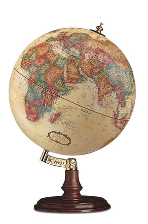Cranbrook 12 Inch Desktop World Globe By Replogle Globes