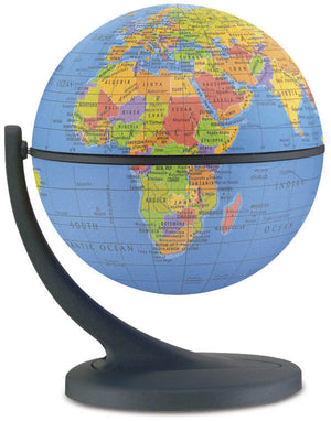 Wonder Globe Blue 4.3 Inch Desktop World Globe By Replogle Globes