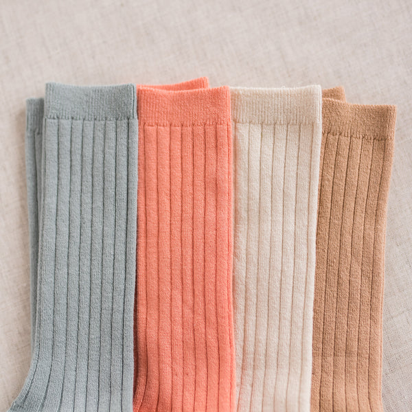 CONDOR Ribbed Knee-High Socks