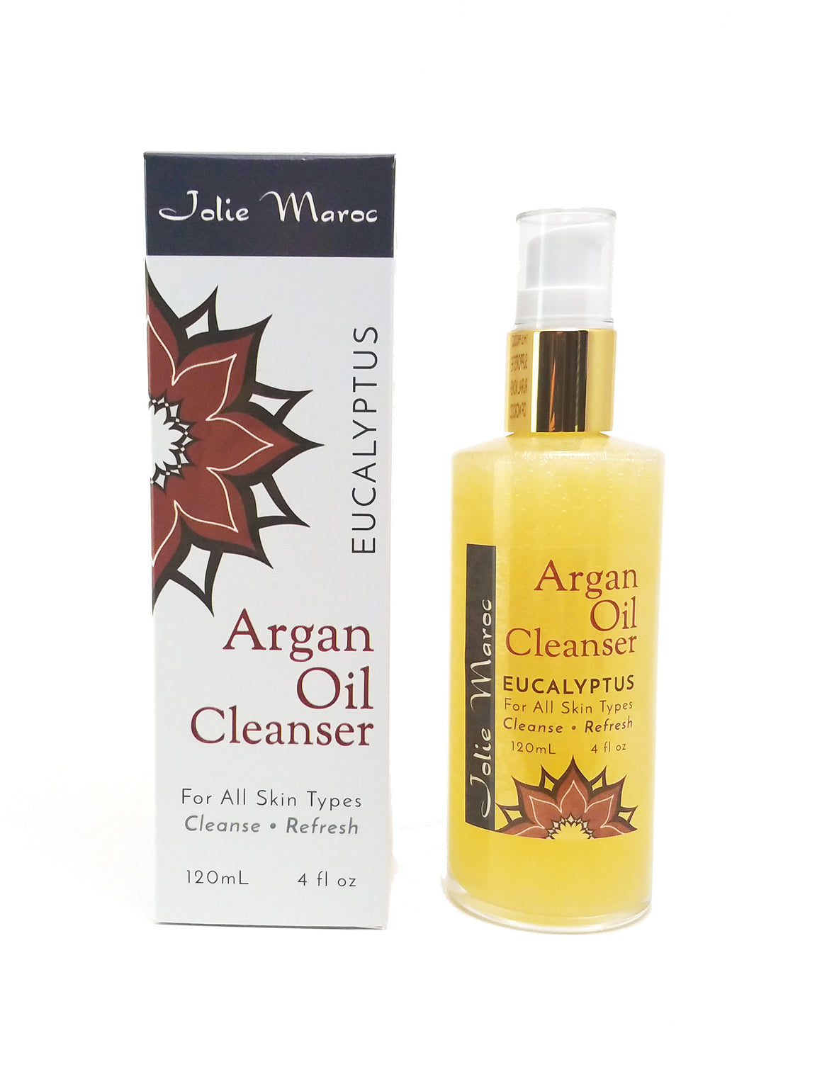 Argan Oil Cleanser - Eucalyptus